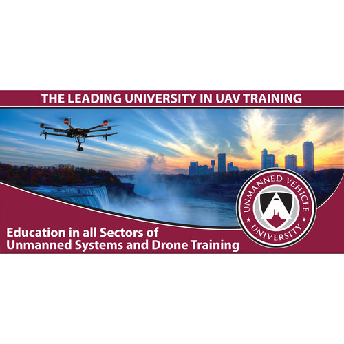 Unmanned Vehicle University Drone Flight Training from a Moving Vehicle Course