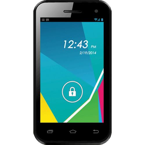 Unnecto Quattro Z 4GB Smartphone (Unlocked, Black)