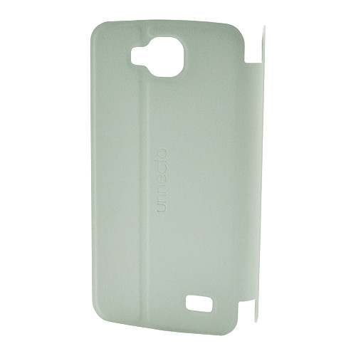 Unnecto Flip Cover for Unnecto Rush (White)