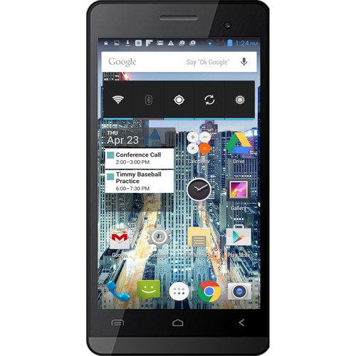 Unnecto Neo U-730 4GB Smartphone (Unlocked, Black)