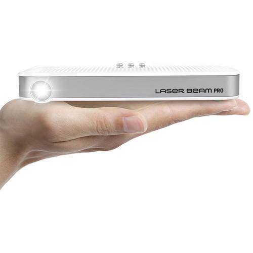 UO Smart Beam Laser Beam Pro C200 200-Lumen WXGA Pico Projector with Wi-Fi