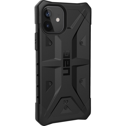 Urban Armor Gear Pathfinder Smartphone Case for Apple iPhone 12 & 12 Pro (Black)