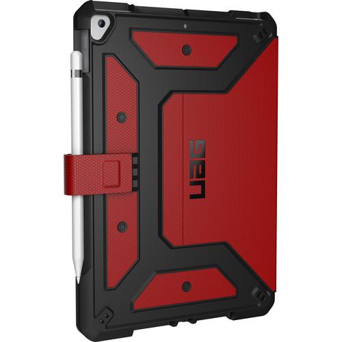 "Urban Armor Gear Metropolis Series Case for the 10.2"" iPad (2019 / 7th Gen / Magma)"