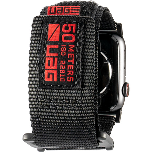 Urban Armor Gear Active Watch Strap for 42mm/44mm Apple Watch (Black)