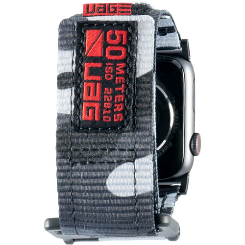 Urban Armor Gear Active Watch Strap for 42mm/44mm Apple Watch (Midnight Camo)