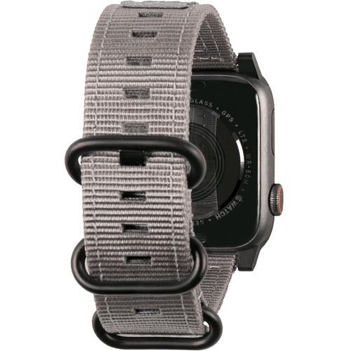Urban Armor Gear Nato Watch Strap for 42mm/44mm Apple Watch (Gray)