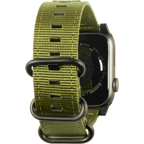 Urban Armor Gear Nato Watch Strap for 42mm/44mm Apple Watch (Olive Drab)