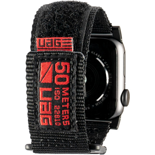 Urban Armor Gear Active Watch Strap for 38mm/40mm Apple Watch (Black)