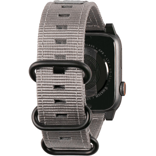 Urban Armor Gear Nato Watch Strap for 38mm/40mm Apple Watch (Gray)