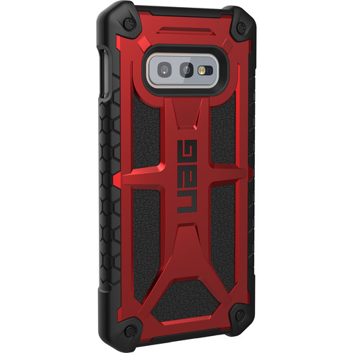 Urban Armor Gear Monarch Series Case for Samsung Galaxy S10e (Crimson)