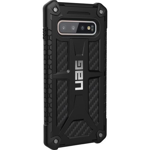 Urban Armor Gear Monarch Series Case for Samsung Galaxy S10 (Carbon Fiber)
