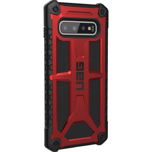 Urban Armor Gear Monarch Series Case for Samsung Galaxy S10+ (Crimson)