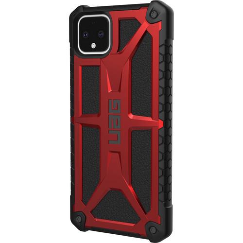 Urban Armor Gear Monarch Series Case for Google Pixel 4 XL (Crimson)