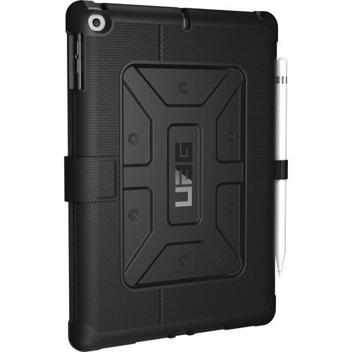 "Urban Armor Gear iPad 9.7"" Case with Pen Holder for EDU/K-12 (Bulk Packaging, Black)"