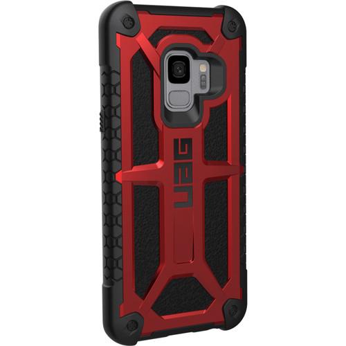 Urban Armor Gear Monarch Series Case for Samsung Galaxy S9 (Crimson)