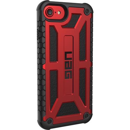 Urban Armor Gear Monarch Case for iPhone 6 Plus/6s Plus/7 Plus/8 Plus (Crimson)