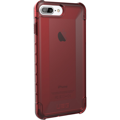 Urban Armor Gear Plyo Case for iPhone 6 Plus/6s Plus/7 Plus/8 Plus (Crimson)