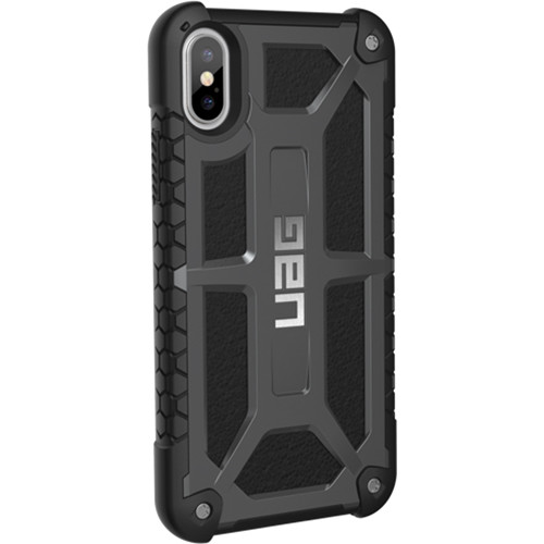 Urban Armor Gear Monarch Case for iPhone X/XS (Graphite)