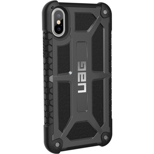 Urban Armor Gear Monarch Case for iPhone X (Graphite)