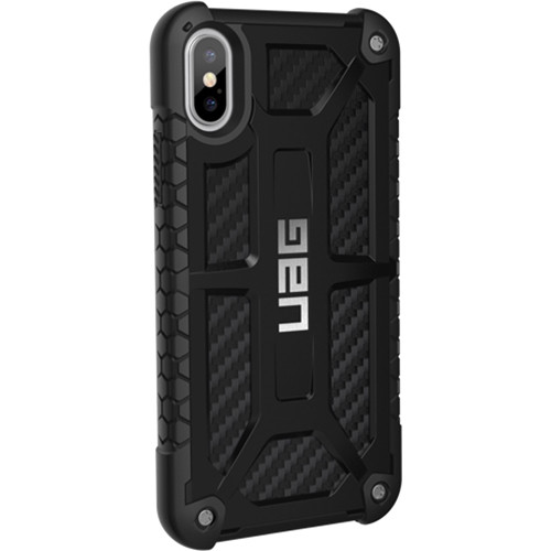 Urban Armor Gear Monarch Case for iPhone X/XS (Carbon Fiber)