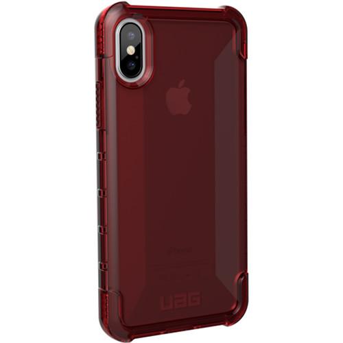 Urban Armor Gear Plyo Case for iPhone X (Crimson)