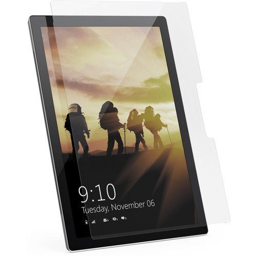 Urban Armor Gear Glass Screen Protector for Surface Pro (2017 / Pro 6 / Pro 4 / Pro 3, Clear)