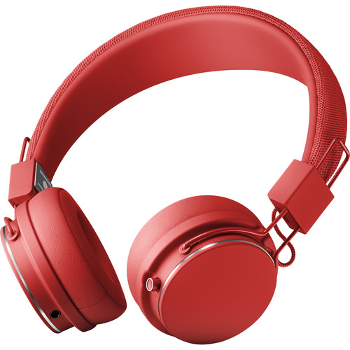 Urbanears Plattan 2 Wireless On-Ear Headphones (Tomato)