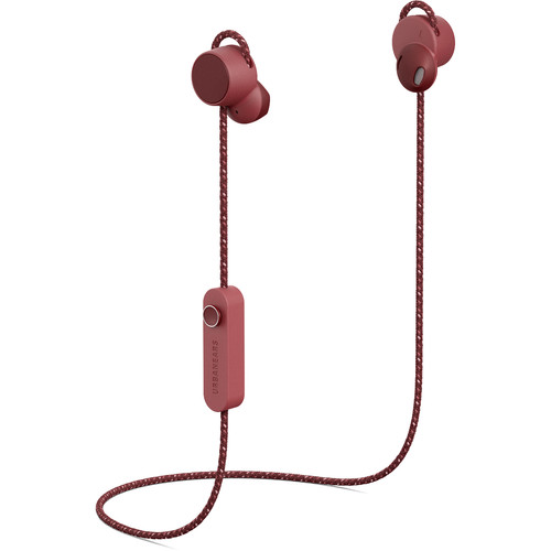 Urbanears Jakan Wireless In-Ear Headphones (Mulberry Red)