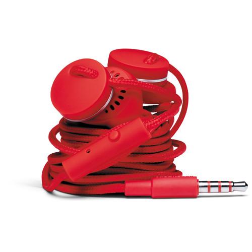 Urbanears Medis In-Ear Headphones (Tomato)