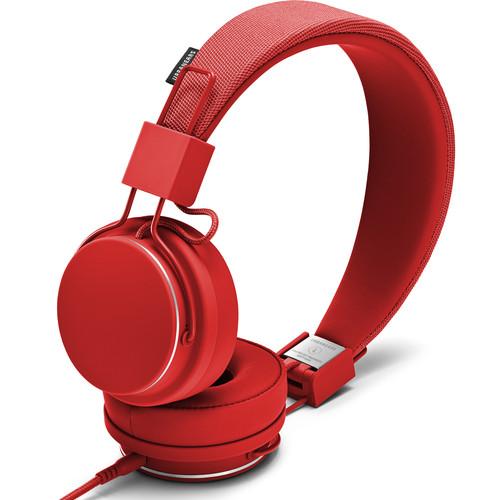 Urbanears Plattan II On-Ear Headphones (Tomato)