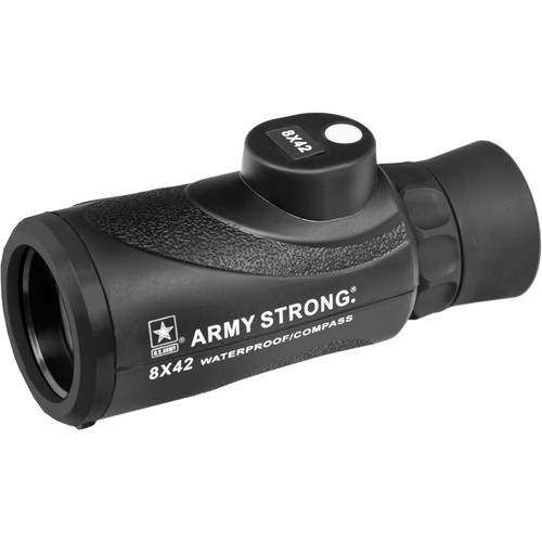 US ARMY 8x42 Waterproof Monocular with Compass