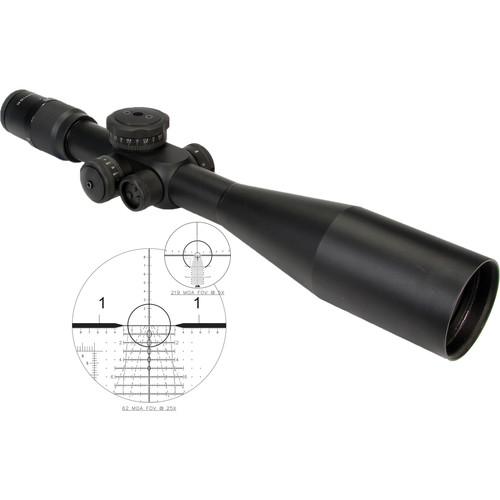 US OPTICS 5-25x58 ER-25 Riflescope (Horus Vision H-102 Illuminated Reticle)