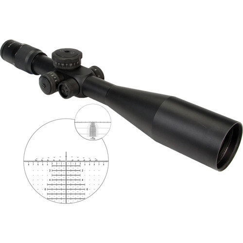US OPTICS 5-25x58 ER-25 Riflescope (Horus Vision H-59 Illuminated Reticle)