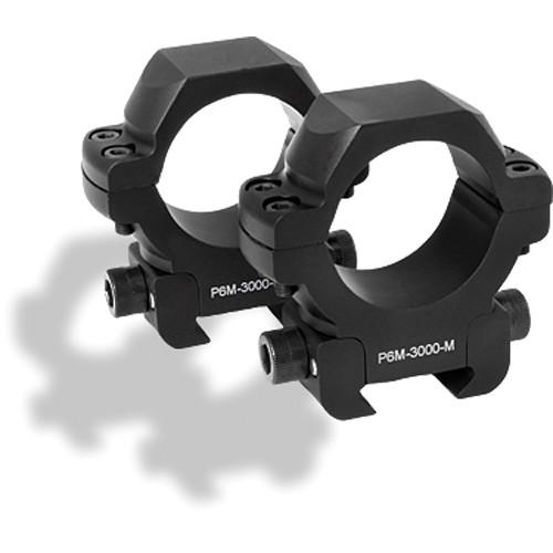 """US OPTICS Medium 30mm Windage Adjustable Rings (1.1"""" Height)"""