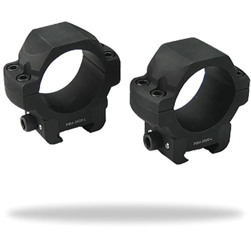 """US OPTICS Low 30mm Windage Adjustable Rings (1.065"""" Height)"""