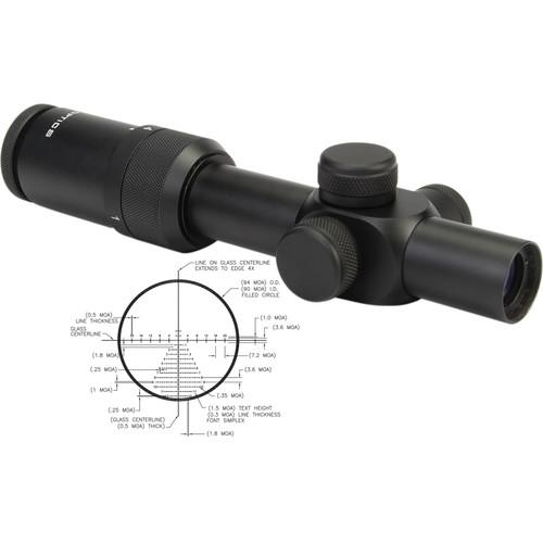 US OPTICS 1-4x22 SR-4C Riflescope (Horus Vision H50 Illuminated Reticle)