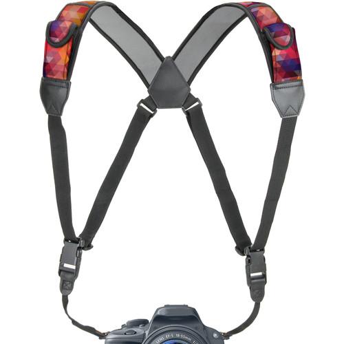 USA GEAR TrueSHOT Camera Harness Strap (Geometric)
