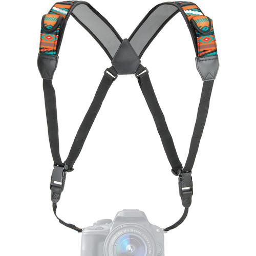 USA GEAR TrueSHOT Camera Harness Strap (Southwest)