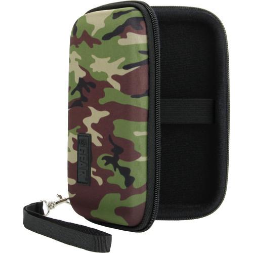 USA GEAR H Series Hardshell 5 Case (Camo Green)