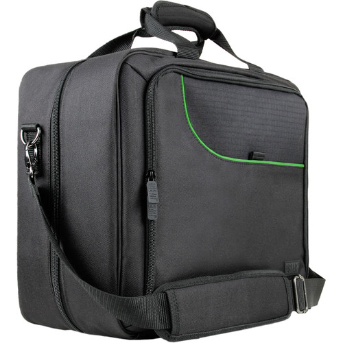 USA GEAR S13 Travel Carrying Case for Xbox One (Gray/Green)