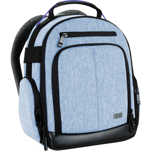 USA GEAR S17 DSLR Camera Backpack (Blue)