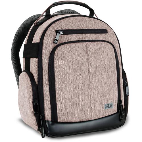 USA GEAR U-Series UBK DSLR Camera Backpack (Brown)