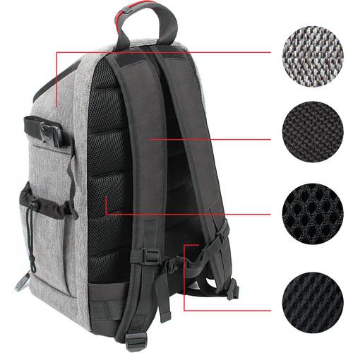 USA GEAR USA Gear U Series Camera Backpack (Gray)