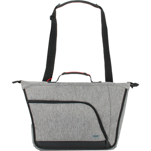 USA GEAR U Series Camera Messenger Bag (Gray)