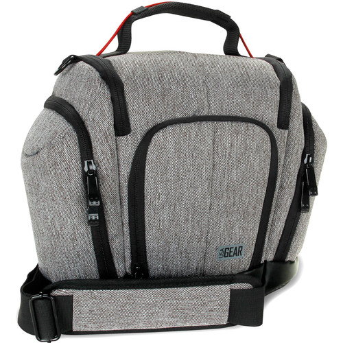 USA GEAR UTX DSLR Camera Case (Gray)