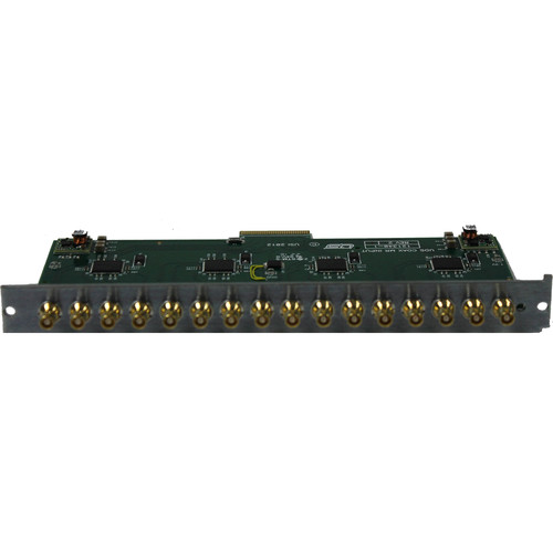 Utah Scientific 16-Unbalanced AES Output Expansion Card Module for UTAH-100/UDS Routing Switcher