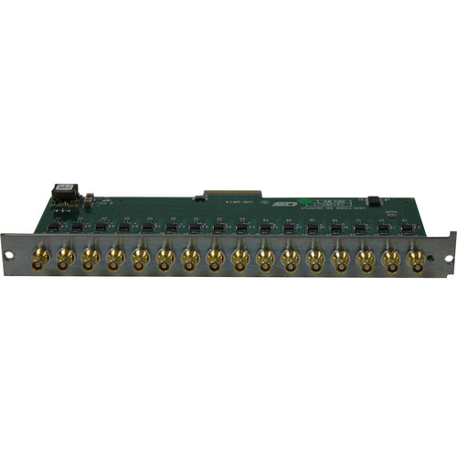 Utah Scientific 16-Input 12G UHD/HD/SD Expansion Card Module with HD-BNC Connectors
