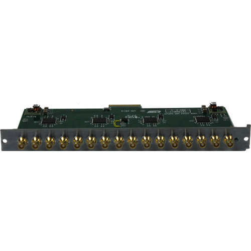 Utah Scientific 16-Output 3G HD/SD Expansion Card Module with HD-BNC for UTAH-100/UDS Routing Switcher
