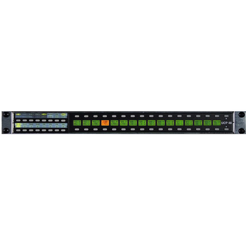 Utah Scientific UCP Router Control Panel with 32 Direct Source Buttons & LCD Displays