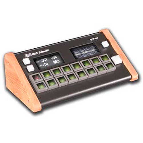Utah Scientific Desktop Multimode Full Matrix X-Y Control Panel with 16 Dynamic LCD Button Keypad